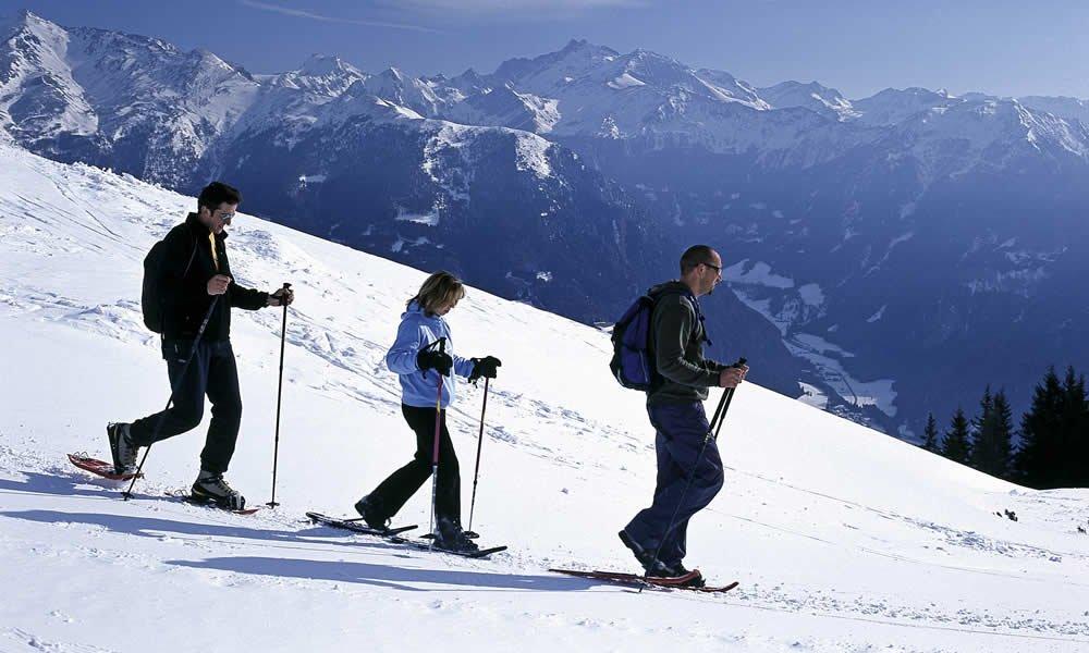 Winterwandern – Schneewandern Ratschings/Ridnaun – Südtirol