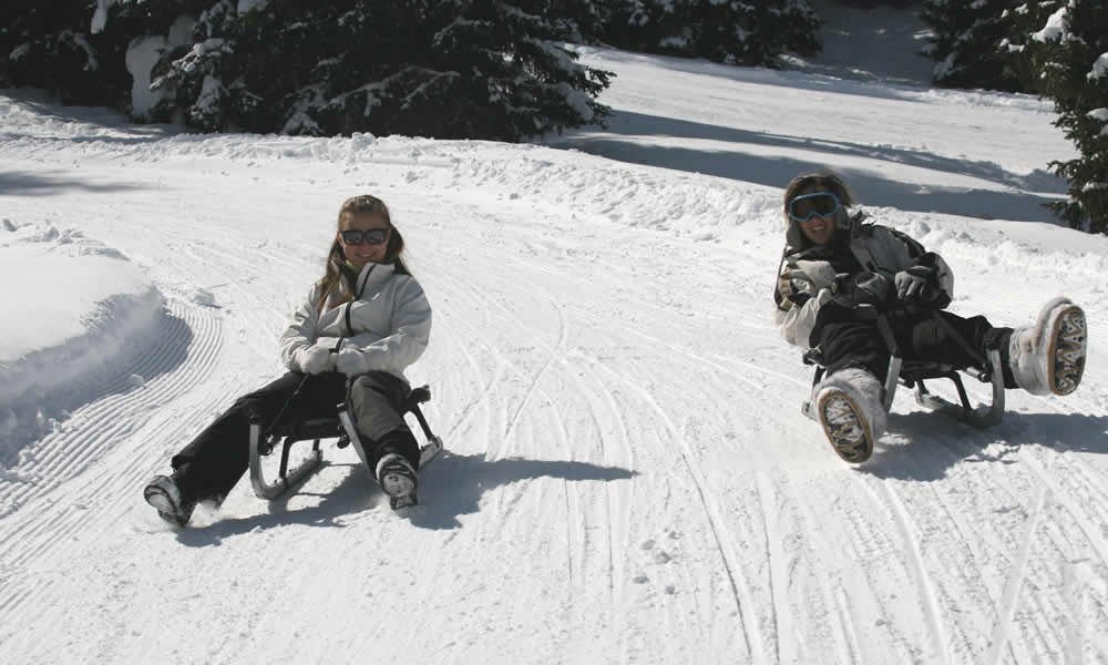 Sled vacation South Tyrol – Sleigh Rides, winter vacation Ridnaun – South Tyrol